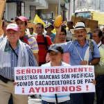 Colombia-ProtestasCacaoculturas