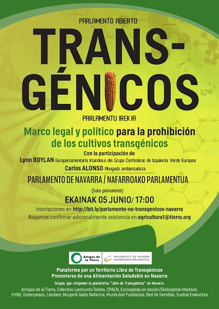 cultivos transgénicos en Navarra