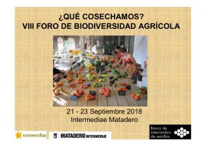 foro de biodiversidad de ecosecha